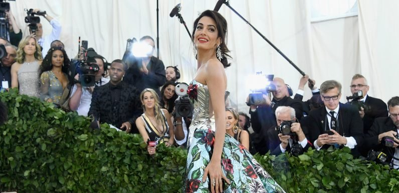 Amal Clooney infuriates Tom Ford with Met Gala outfit change