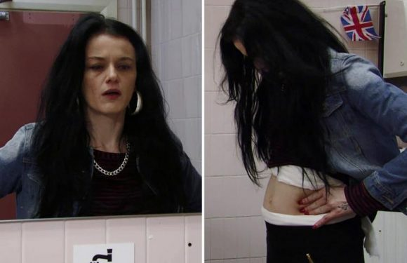 EastEnders' Hayley Slater reveals she's pregnant but why is she hiding it?