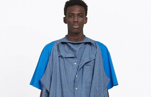 Want This $1,290 Balenciaga Shirt That's Pinned to Another Shirt? No? OK, Then.