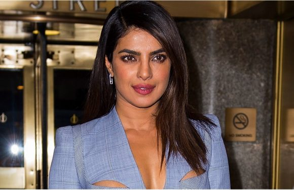 Priyanka Chopra's Sexy Cutout Blazer Fits Her Like a Bustier — Oh Baby, Would You Dare?