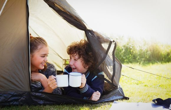 We are giving away a full camping kit so you and your family can staycation in style