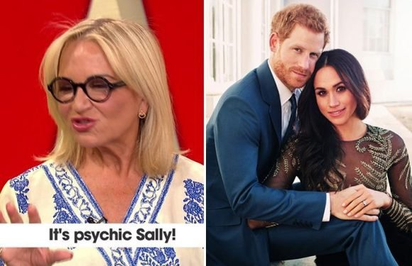 Princess Diana's psychic Sally Morgan predicts Meghan Markle and Prince Harry will have twins and 'an amazing future'