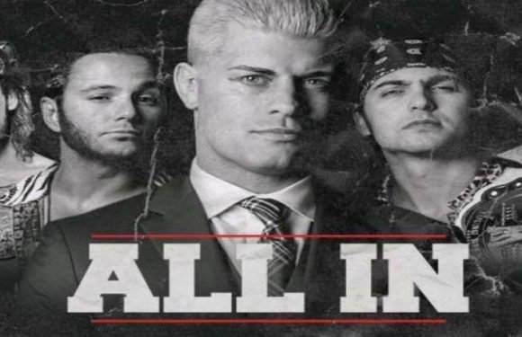 Huge Names Announced For 'All In' As Tickets Sell Out In An Hour – Rey Mysterio Confirmed, Vince Russo Banned