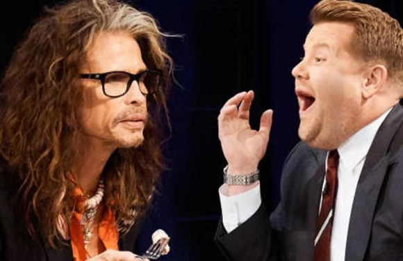 Steven Tyler Spills on Million-Dollar Drug Habit While James Corden Reveals Who 'Bolted' from His Show