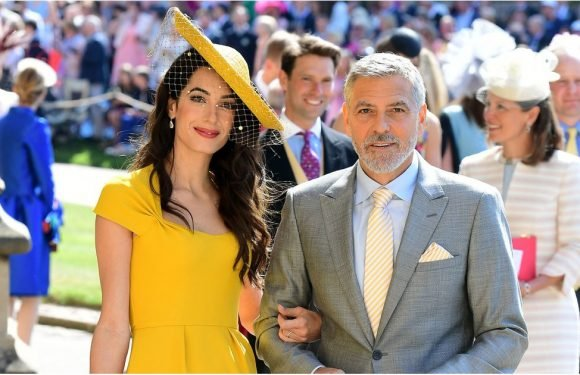 Amal Clooney Looks Sensational at the Royal Wedding — but Would You Expect Any Less?
