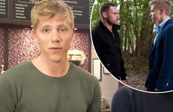 Emmerdale's Ryan Hawley hints at 'Robron' wedding as he reveals he 'hasn't spoken to' co-star rival Michael Parr since British Soap Award nominations