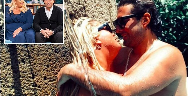 Gemma Collins and James Argent share steamy pic of them in the pool in Spain