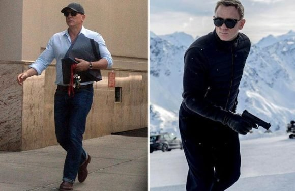 Daniel Craig to land a bumper £50million pay day for starring in new Bond movie to earn £357,000 for every minute he's onscreen