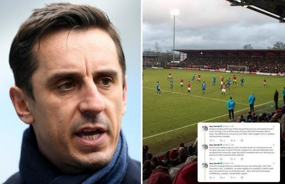 Gary Neville in 'Twitter meltdown' after his plans to turn Greater Manchester greenbelt into Salford City FC training pitches rejected