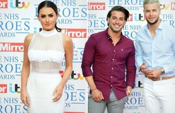 Love Island exes Amber Davies and Kem Cetinay face awkward run-in at the NHS Heroes Awards as they're set to meet for the first time since split
