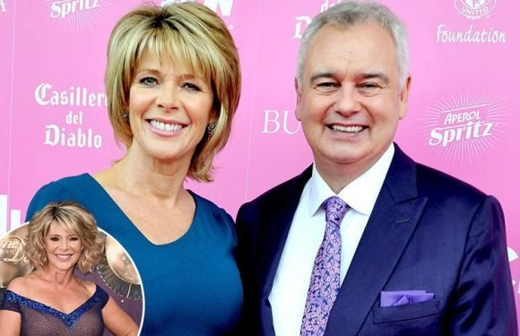 Eamonn Holmes says wife Ruth Langsford's stint on Strictly last year 'put their relationship under a lot of pressure' and he 'wanted her to be knocked out'