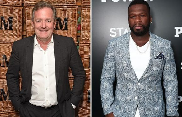 Piers Morgan listens to 50 Cent every morning in the shower before GMB
