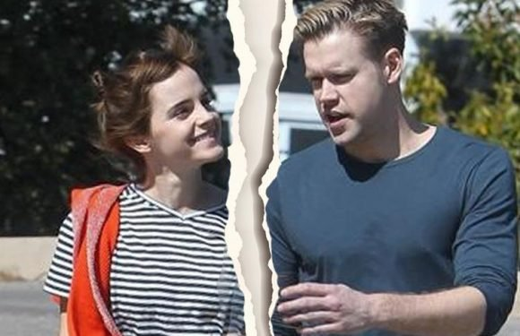Actress Emma Watson splits from her Glee star boyfriend Chord Overstreet