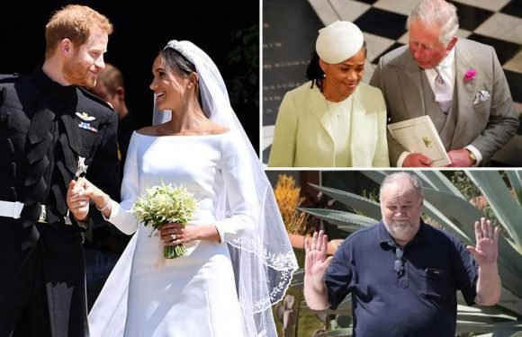 Prince Harry told Meghan Markle she 'navigated everything with such grace' in emotional Royal Wedding speech in apparent nod to dad missing her big day