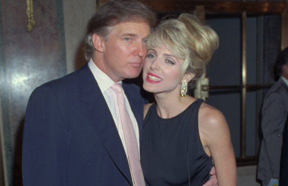 Model claims she saw Trump cheat on pregnant Marla Maples