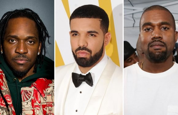 Drake, Pusha T, Kanye West Feud Escalates With 'Duppy' Diss Track, Tweets