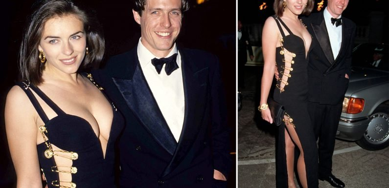 Elizabeth Hurley: Wearing safety pin dress now could be depressing