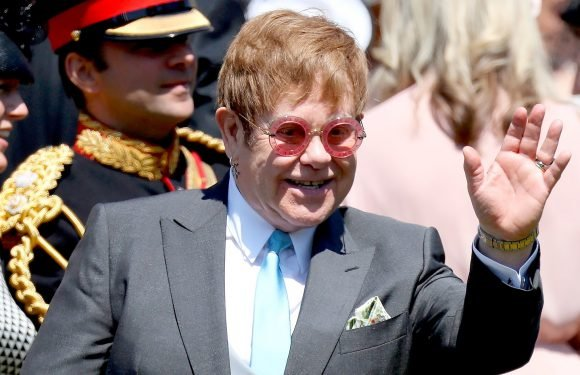 Elton John Performs at Prince Harry, Duchess Meghan's Wedding