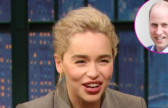 Emilia Clarke Cringes Over Awkward Meeting With Prince William