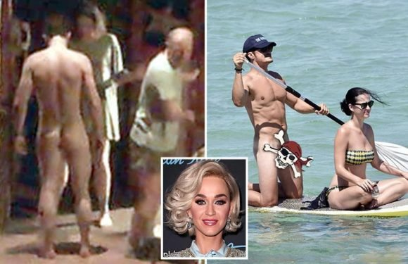 Orlando Bloom strips naked in public AGAIN as Katy Perry watches him from the audience in new play Killer Joe