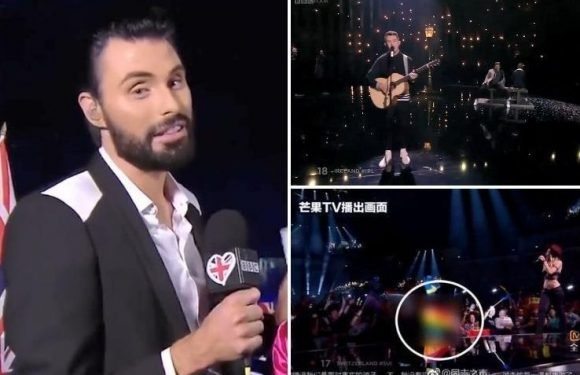Eurovision BANNED in China after it edited out LGBT performance by Ireland