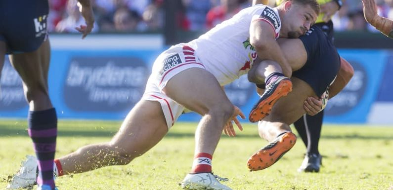 Blues see Red as Dragons' Origin contenders thrive