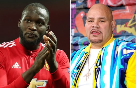 Soccer star Romelu Lukaku dines with Fat Joe in Miami