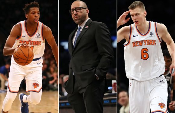 Five questions facing David Fizdale hinge on young Knicks