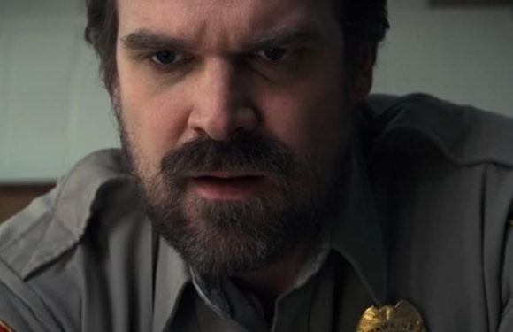 Stranger Things season 3's Chief Hopper aka David Harbour has a bold new look