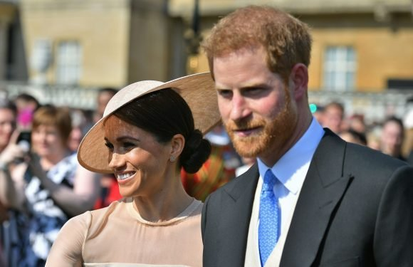 Prince Harry and Meghan Markle make first appearance as newlyweds