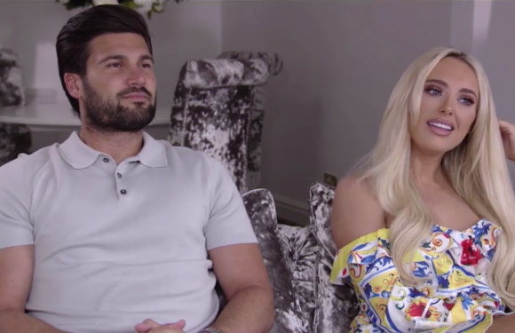 Towie's Amber Turner and Dan Edgar see relationship expert to help their romance