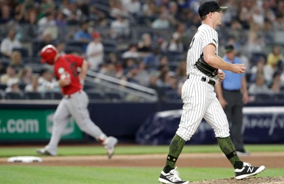 Sonny Gray awful again as Trout, Angels hammer Yankees