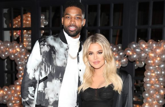 """Khloé Kardashian Is Reportedly Keeping Tristan Thompson """"On a Tight Leash"""""""