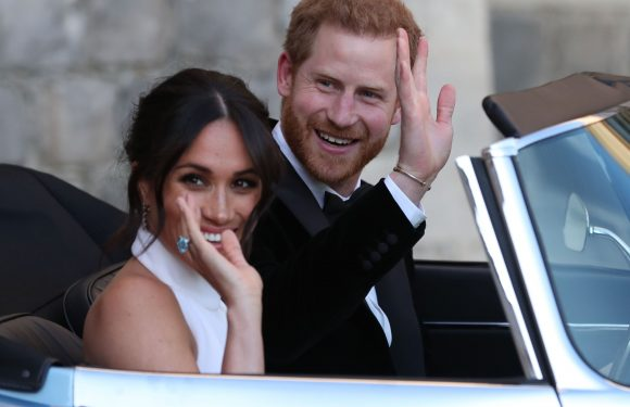 Prince Harry and Meghan Markle's Jaguar Had a Hidden Homage to Their Wedding Day