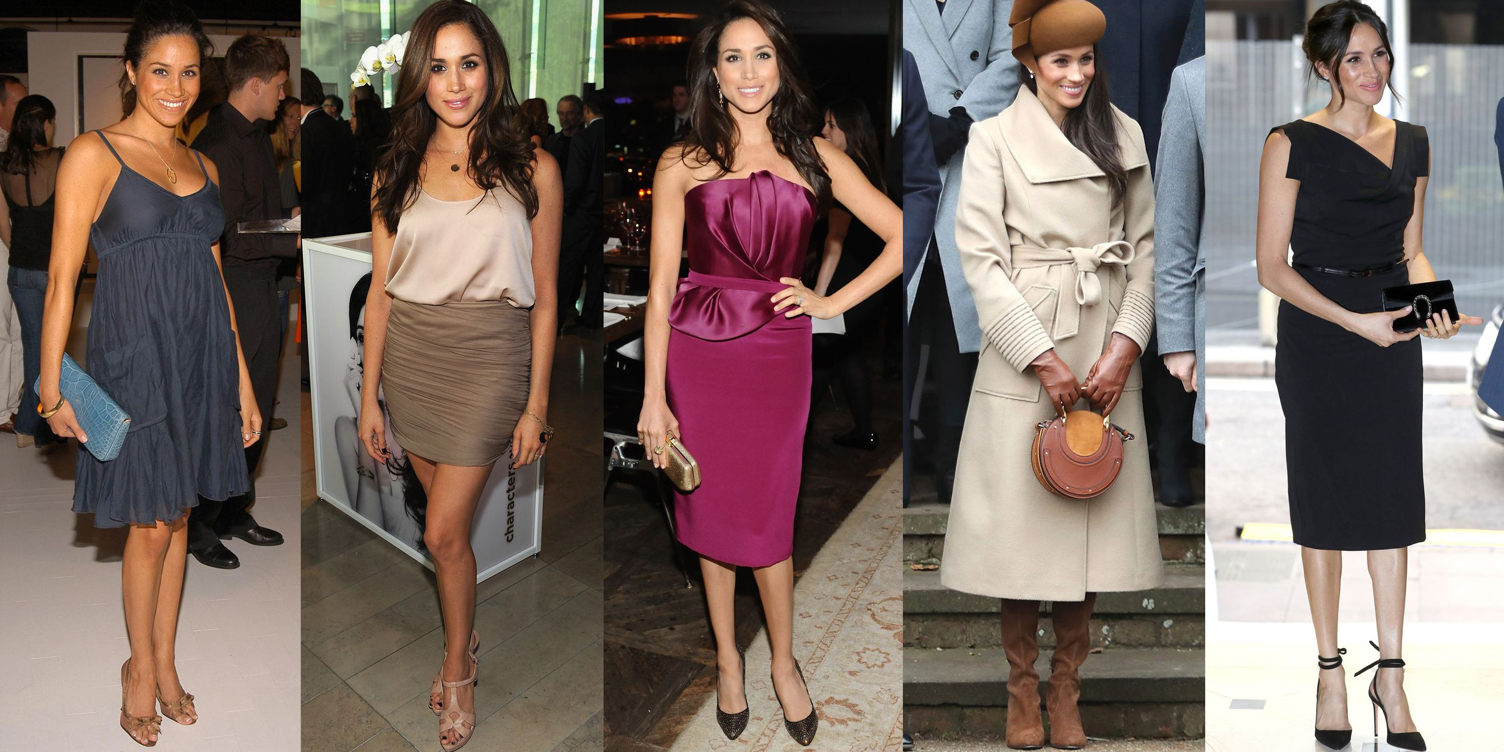 Relive Meghan Markle S Best Style Moments Through The