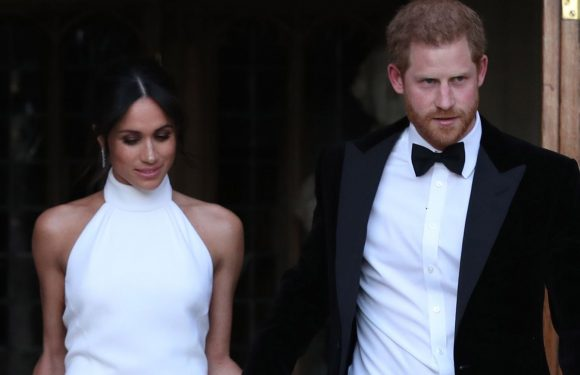 Prince Harry and Meghan Markle's Evening Reception Invitations Looked Nothing Like the Daytime Ones