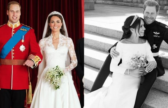Meghan and Harry's First Portraits Were Just Released–Here's How They Compare to Kate and William's