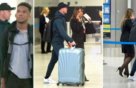 Everton striker Wayne Rooney lands in Miami and catches flight to Washington for DC United talks and medical