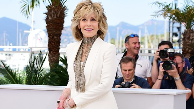 Jane Fonda, 80, Has Been Rocking A Rainbow Of Pantsuits — See Colorful Outfits