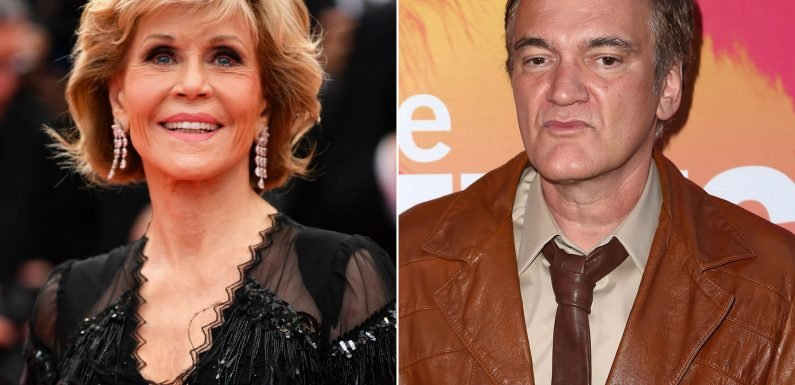 Jane Fonda wants to work with Quentin Tarantino