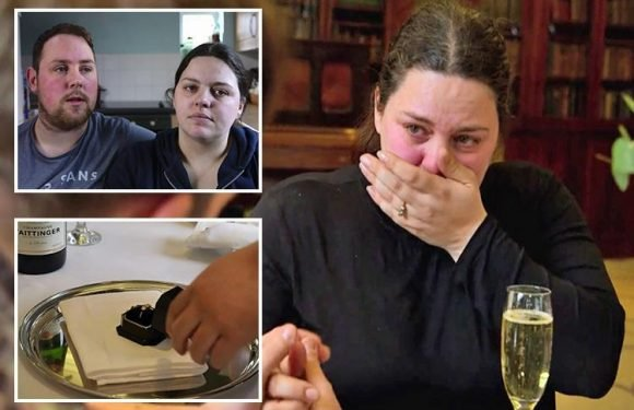 Rich House, Poor House dad can FINALLY afford to replace his distraught fiance's lost £650 engagement ring in tear-jerking episode