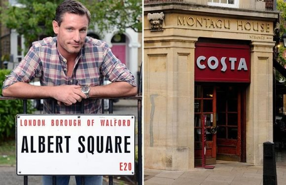 EastEnders copies Coronation Street by installing a Costa coffee shop on set, reveals Dean Gaffney