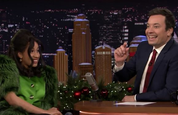 Jimmy Fallon Can't Handle Cardi B or Her Sound Effects on 'The Tonight Show'