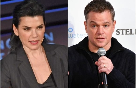 Julianna Margulies defends Matt Damon amid #MeToo backlash