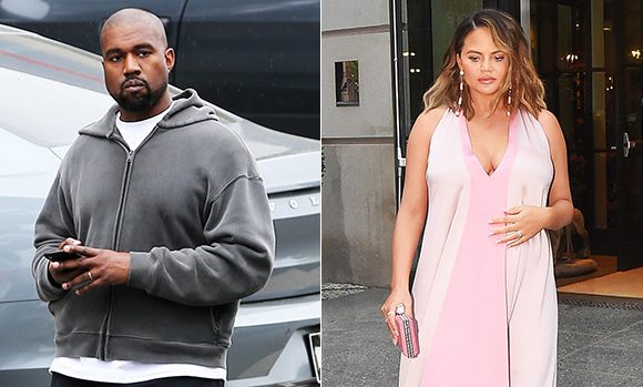 Kanye Leaps To Chrissy Teigen's Defense When Candace Owens Calls Her The 'Most Hateful Person'