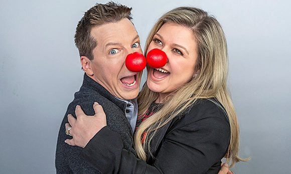 Red Nose Day 2018: Kelly Clarkson & More Stars Join The Fight To Beat Child Poverty