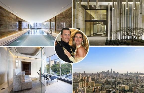 Gisele Bundchen and husband Tom Brady put lavish £10million New York home up for sale