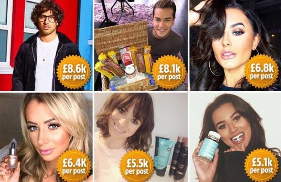 How last year's Love Island contestants earn thousands on social media flogging clothes, make-up, vitamins and even biscuits