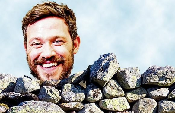 Pop Idol star Will Young enrolls in a dry stone walling class to combat anxiety and stress