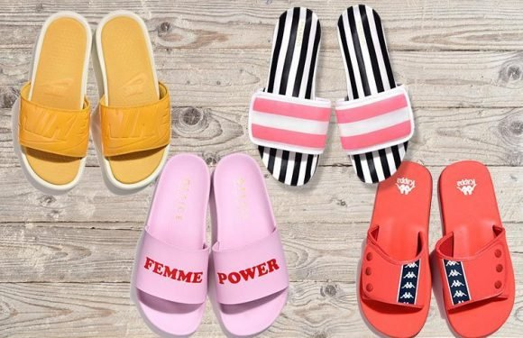 Slides are set to be the summer's holiday essential… here's our pick of the best starting from £15